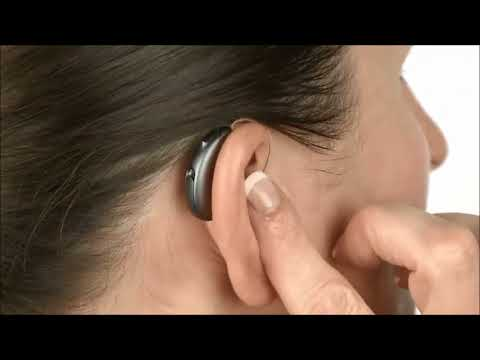 How to put on a RIC hearing aid