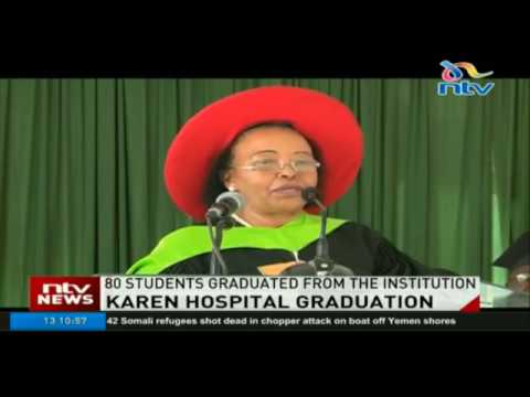 Karen Hospital Training College holds inaugural graduation