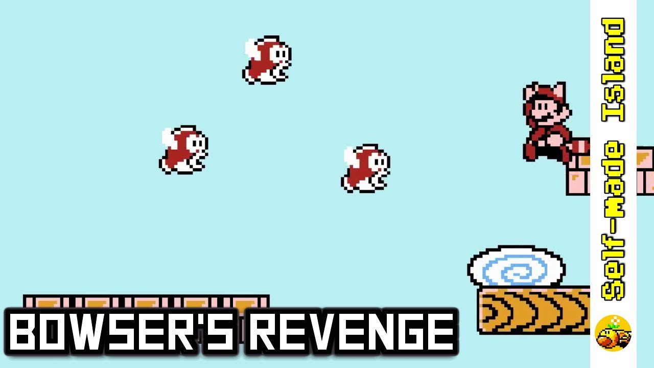 Bowser's Revenge • Super Mario Bros  3 ROM Hack
