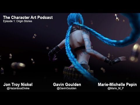 The Character Art Podcast #1: Marie-Michelle Pepin