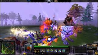 Dota 2 Unusual courier collection.