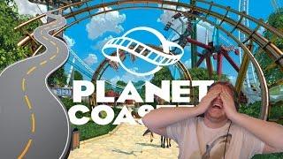 (4) Suorien teiden MESTARI! - Planet Coaster
