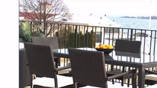 South Hampton Patio Wicker Dining Set - Wickerparadise.com