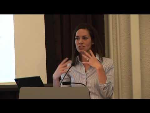 Professor Emily Putnam-Hornstein at Conrad N  Hilton Foundation (2013)