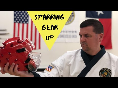 Gear Up - How To Put Tang Soo Do Sparring Gear On