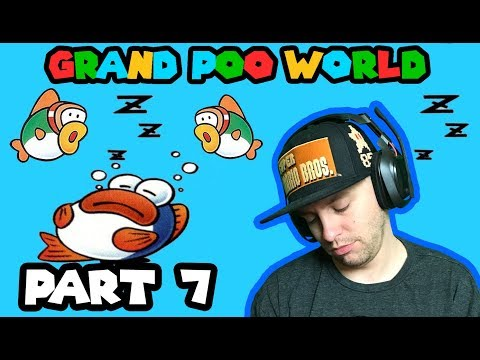 Water + Autoscroller = BEST LEVEL EVER! Grand POO World Part 7