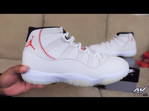"""AIR JORDAN 11 """"PLATINUM TINT"""" FULL DETAILED AUTHENTIC REVIEW + NO ON FEET"""