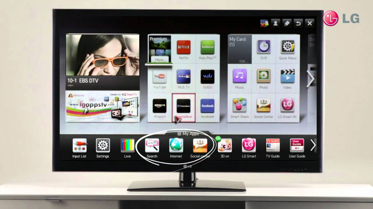 LG Magic Motion Remote Control - Voice Recognition