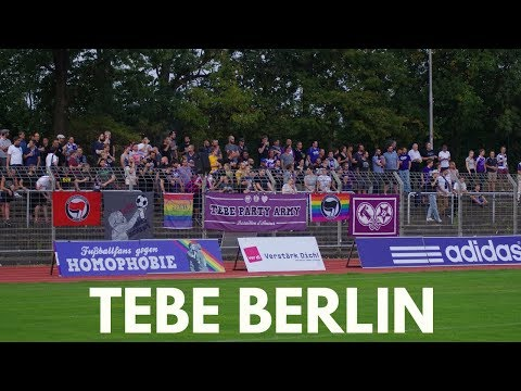 Drones? vegetarian food? A look inside TEBE Berlin. A special club.