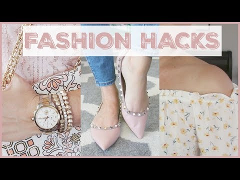 Fashion Hacks Every Woman Should Know. http://bit.ly/2GPkyb3