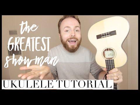 NEVER ENOUGH - THE GREATEST SHOWMAN SOUNDTRACK (UKULELE TUTORIAL)