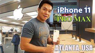 TRẢI NGHIỆM & GIÁ BÁN iPHONE 11 PRO MAX TẠI MỸ - ATLANTA, USA