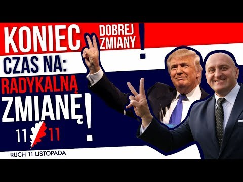 Koniec dobrej zmiany! Czas na radykalną zmianę R11L! Kowalski & Chojecki NA ŻYWO w IPP TV 08.12.2017