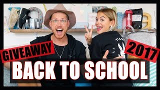 BACK TO SCHOOL + GIVEAWAY! // P.O et Marina