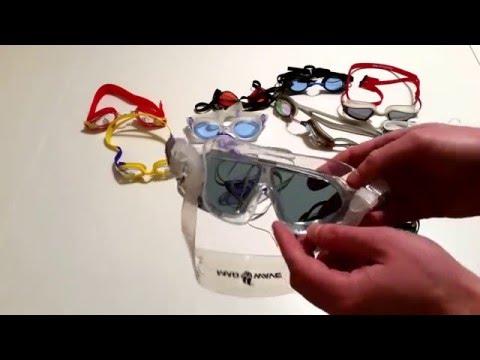 Как выбрать очки для плавания, почему они запотевают