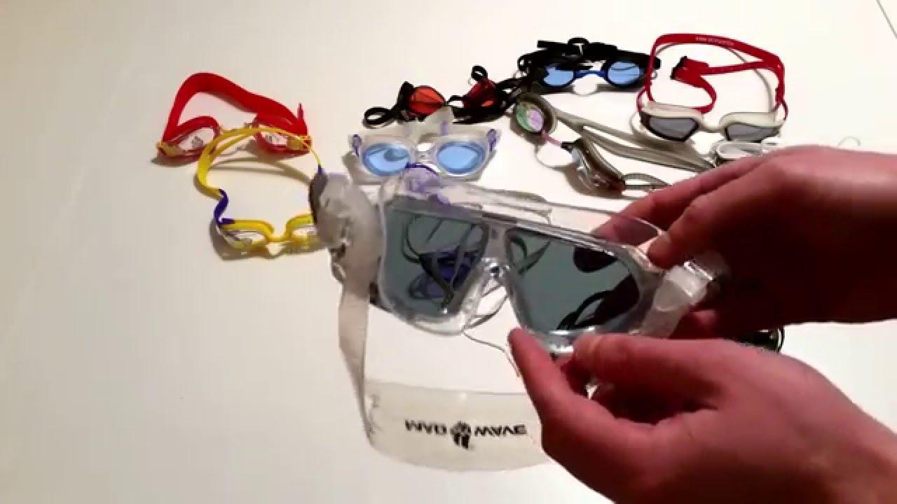 Как сделать очки для плавания