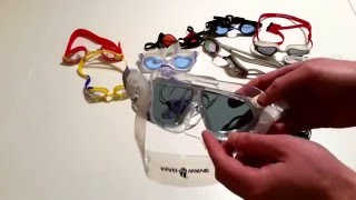 видео Как правильно выбрать очки для плавания в бассейне