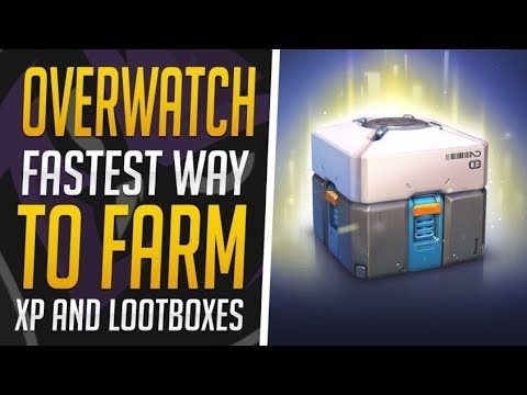 Overwatch *Fastest Way To Farm XP & Loot Boxes! Tips & Tricks