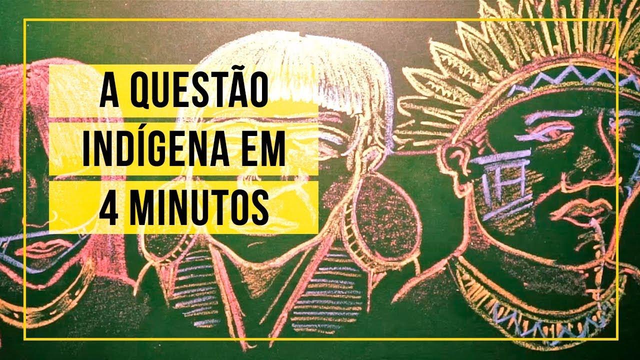 A questão indígena em 4 minutos