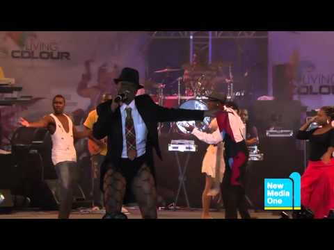 Antigua Carnival 2012   Groovy Segment Performance Benna Soca   Claudette  CP  Peters