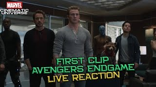 Avengers Endgame First Clip Reaction - Breakdown Channel Universe LIVE NOW