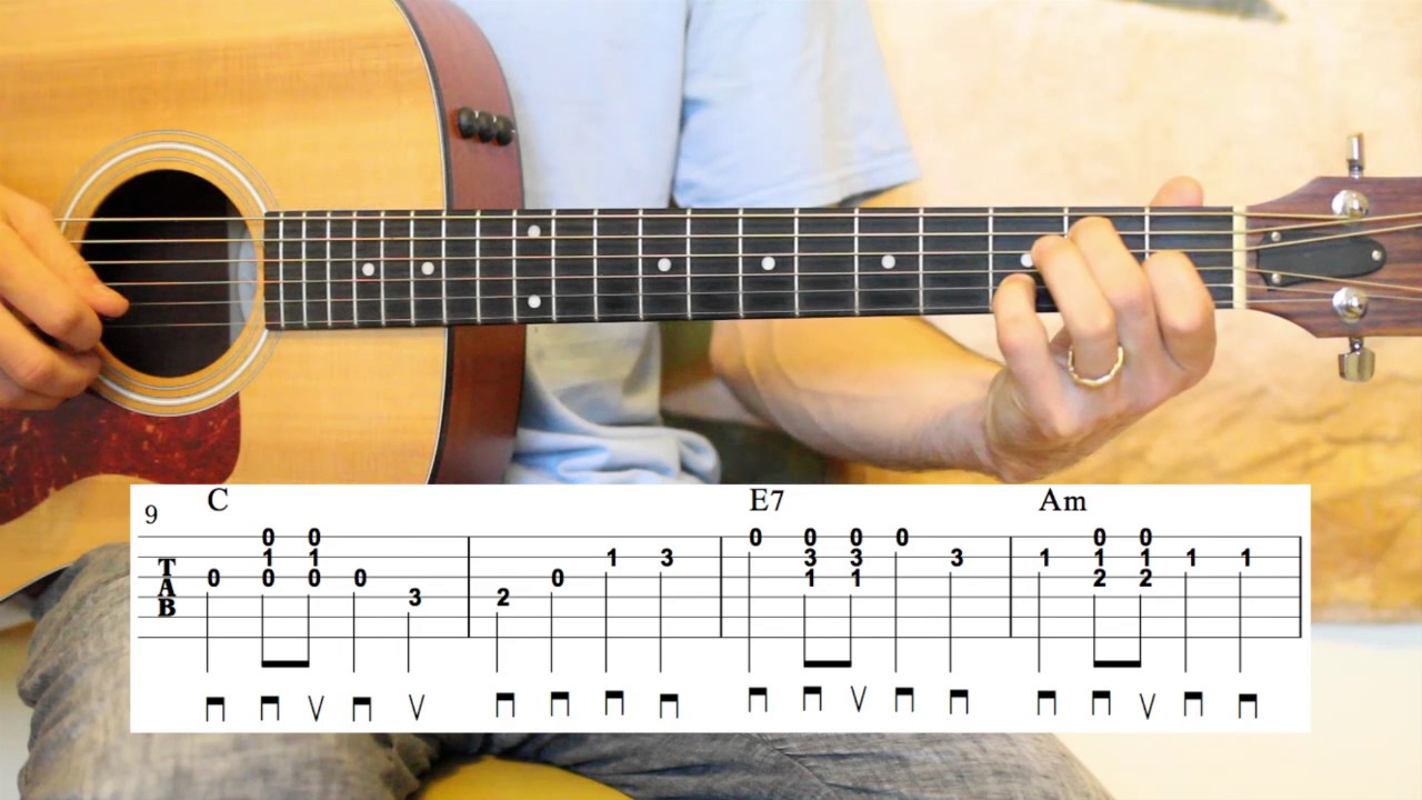 Battle Hymn Of The Republic Guitar Lesson Glory Glory