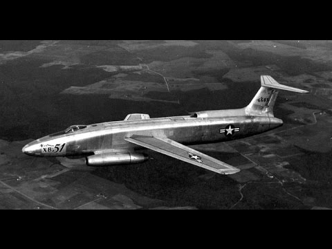 Martin XB-51 Máy Bay Ném Bom 3 Động Cơ Phản Lực Kỳ Lạ Của Mỹ