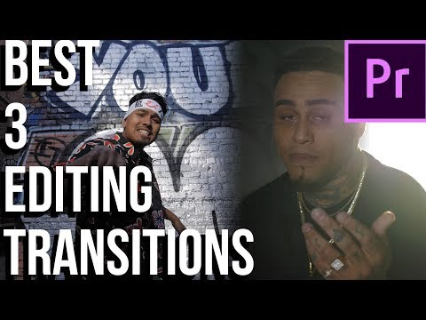 Editing TRANSITIONS for Beginners Music s Adobe Premiere Pro CC Tutorial