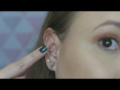 Cicatrizacao Piercing Conch 5 Meses Depois Youtube