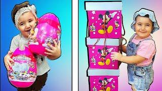 Super Celina and Hasoun with Surprise Box - سوبر سيلينا وحسونة العاب مفاجئة