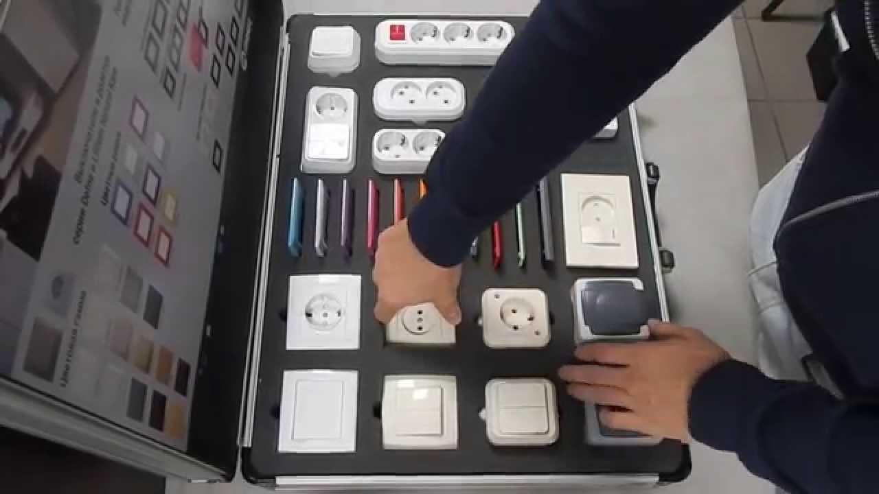 Розетки, выключатели и колодки Makel