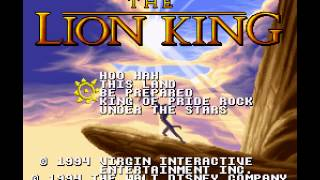 The Lion King - Lion King, The (SNES) - Be Prepared - User video