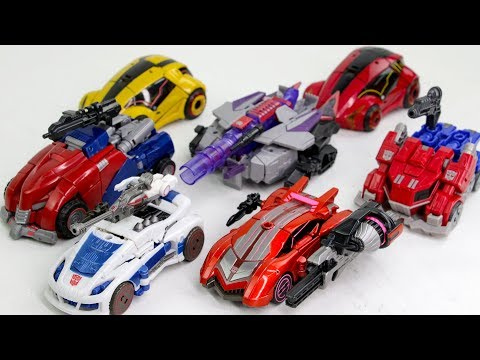 Transformers GAME FOC WFC Optimus Prime Bumblebee Cliff Jumper Jazz Sideswipe Megatron Car Robot Toy