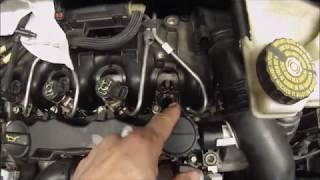 Changer les joints d'injecteurs sur un moteur PSA 1,6 HDI