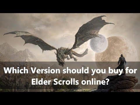 Elder Scrolls Online Which Version To Buy