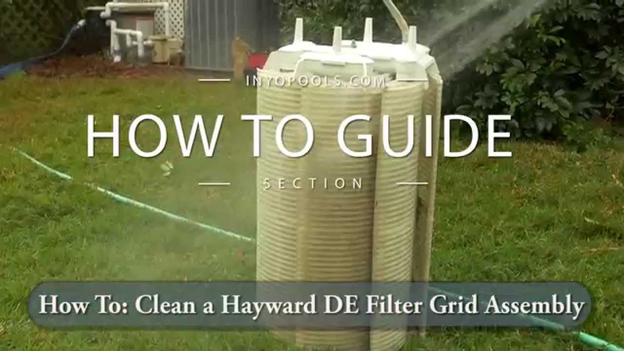 how to clean a de grid assembly youtube