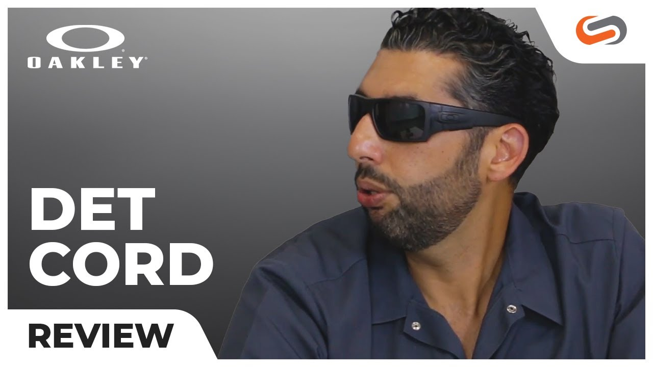 Oakley Det Cord >> Oakley Det Cord ANSI Safety Glasses Review | SportRx - YouTube