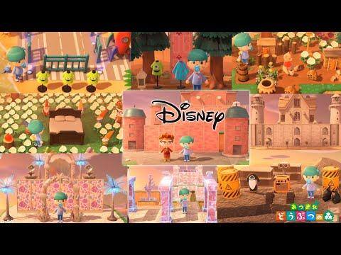 """【あつ森】""""ディズニー映画のお城や名シーンを7個も完全再現""""したディズー大好きオタクの本気の島がガチで凄すぎるwww 異次元のレベル過ぎてヤバい!!!!!!!!!!!!"""