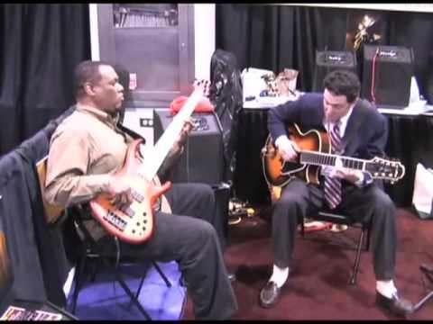 Jazzkat Amplifiers Presents John Pizzarelli John Hart Playing Cherokee