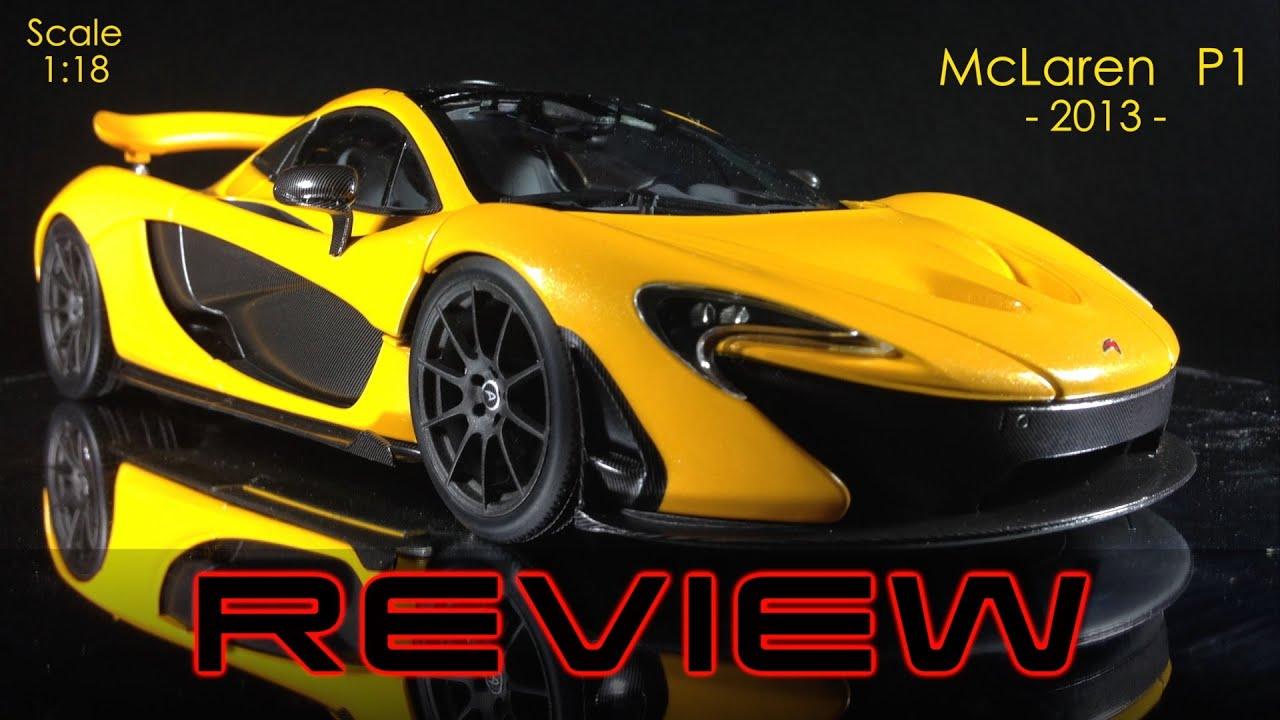 mclaren p1 1:18 truescale review - the new version 1/18 in volcano