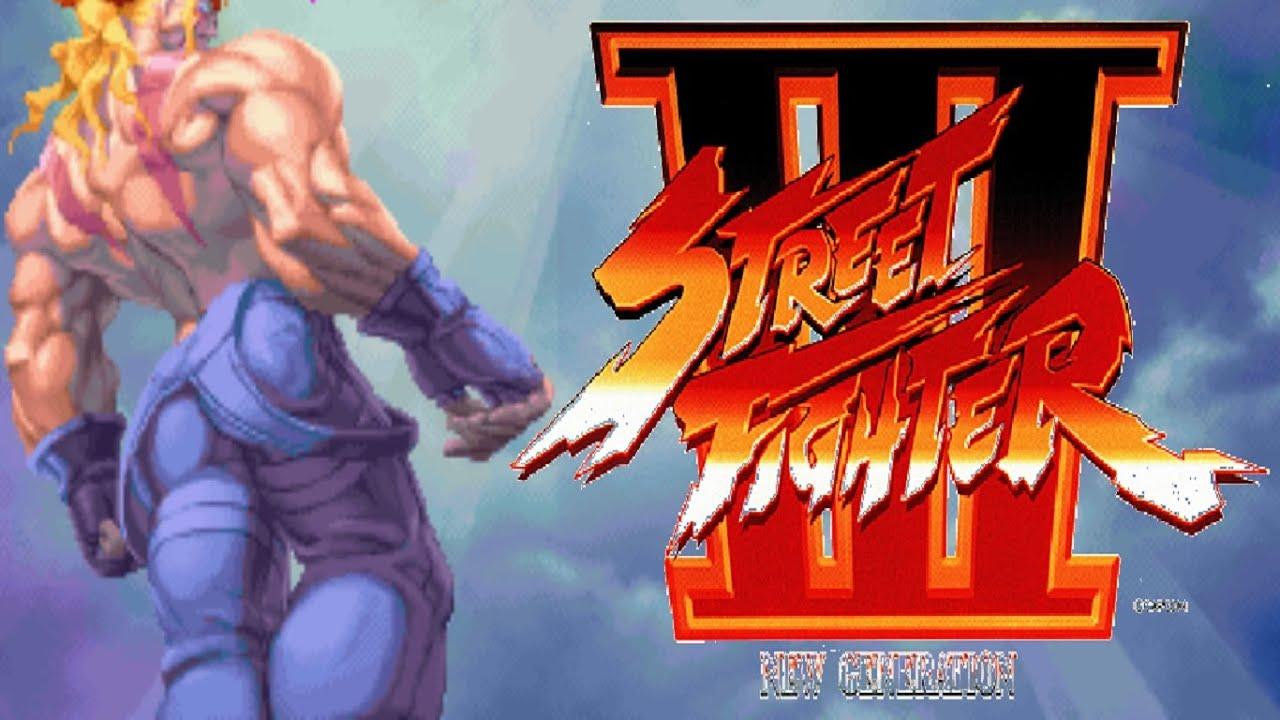Street Fighter III - New Generation - Alex (Arcade) - YouTube