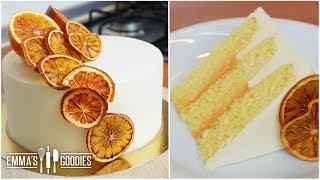 Orange Creamsicle Cake - Super Fluffy Orange Cake Recipe