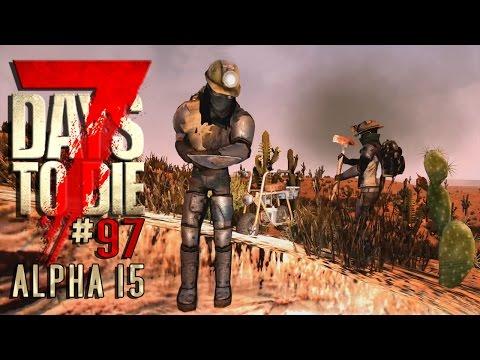 7 DAYS TO DIE Alpha 15 #97 • Schluchtenspringer • 7D2D Gameplay German Deutsch