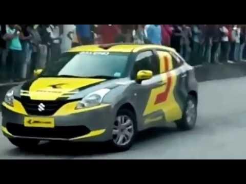 baleno car stunt