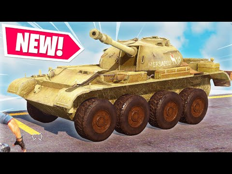 Just Cause 3 - NEW SOVIET TANK MOD *GOPNIK TANK*