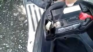 DIY change battery yamaha filano เปลี่ยนแบต ทำเองได้