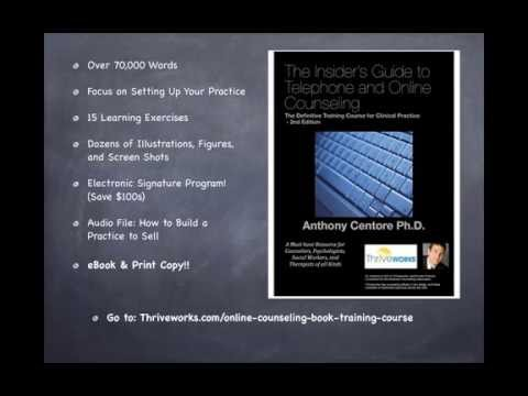 Online Counseling Course Book: Traditional Versus Online Therapy