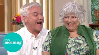 Miriam Margolyes Reveals Explicit Reason Behind Her Curly Hair | This Morning