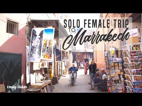 Female Solo Travel in Marrakech // Travel Vlog