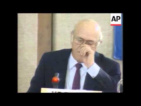South Africa - De Klerk makes apology